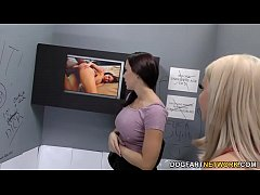 brooklyn chase and chanel preston tries anal - gloryhole
