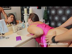 cheating mom madisin lee gets facial by stepson