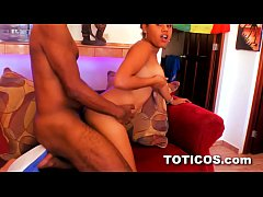 Hot young dominican teen fucked doggystyle in Dominican Republic - Toticos.com