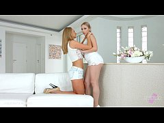 Enough talking - lesbian scene with Ivana Sugar and Alana Moon by SapphiX