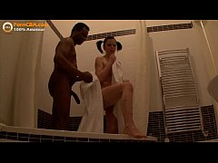 Interracial amateur teen couple makes video