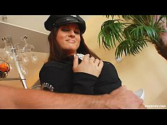 Pure Pov Kara police officer fucks and sucks cock