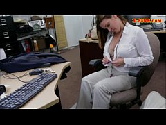 hot big boobs woman pussy fucked by pawn man for a ticket