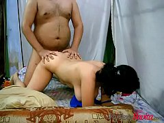 Savita Bhabhi Bending Over Taking Her Lovers Cock Deep Inside Her Ass