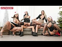 LETSDOEIT - German Office Party Ends with A Gangbang (Mia Blow, Lilli Vanilli, Wild Vicky, Jolee Love)