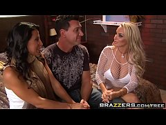 Hens night threesome two milfs (Holly Halston, Lezley Zen) - Brazzers