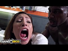 BANGBROS - Young Jade Jantzen Craves The Mechanic's Big Black Dick