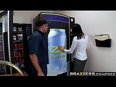 Brazzers - Big Tits at Work - Fucking the Vending Machine Dude scene starring Juelz Ventura and John