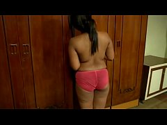 Hot Desi Girl Stripping to Her Pink Panties .MP4