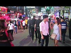 Walking Street Thai Asian Girls in Thailand!