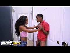 BANGBROS - Lil D. Somehow Ends Up Fucking His Step Sister Demi Sutra