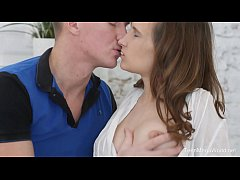Creampie-Angels.com - Stasya Stoune - Stud gives massage and gets a fuck