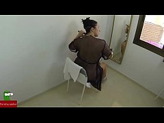a quick fuck while she gets ready in the mirror ADR075