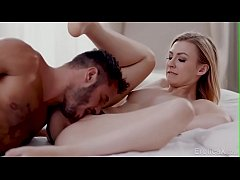 She cums on his big cock