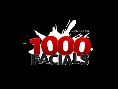 1000Facials Sweet Dillion Harper facialized by Will Powers!