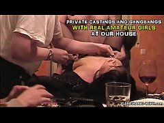 Private homemade gangbangs and sex parties