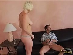 Beautiful Voluptuous Blonde Babe Taken Home & Fucked Hard -- www.BuztaNut.com --