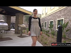 Young Cutie Ember Stone Filled With Cum in Hotel