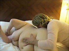 Nasty MILF having fun with a fat chick