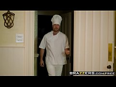 Brazzers - Real Wife Stories - The Caterer scene starring Amber Deen and Freddy Flavas