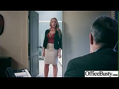 (Nicole Aniston) Naughty Slut Big Tits Girl Get Nailed In Office vid-26