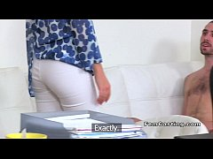 Hot female agent sucks and screws in casting office