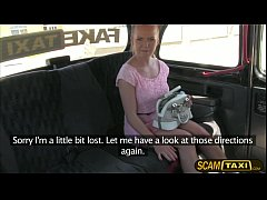 Gorgeous hot Bella gets banged in the backseat of the cab by the cab driver