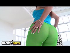 BANGBROS - Big Booty PAWG Carmen Ross First Porn Scene With Brick Danger