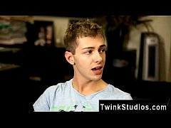 Amazing twinks Brice Carson is bragging to his friend Keith Conner