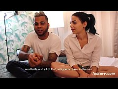 Stunning Latina Distracts Her Man From His Video Game