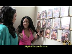 black girl have surprise gloryhole 21