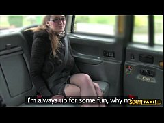 Babe Demona gets a free taxi fair and messy facial