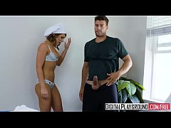DigitalPlayground - Break her at breakfast (Adriana Chechik, Ramon Nomar)