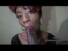 Ebony Milf Sloppy Head Before And After Makeover- DSLAF