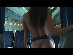 Horny Lesbian Flight Attendants Fuck On Private Plane- PUMA SWEDE-