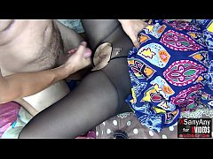 [XSanyAny] Dealt with Girlfriend's Pantyhose to Fuck her and Cum on Pussy