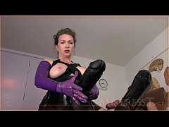 Huge Anal Insertions Challenge Mistress T