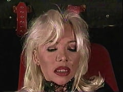 Beautiful High-Heels Blonde MILF Hard Anal Big Cock, Leather Fetish, Helen Duval