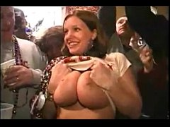 mardi gras big boobs grope 1