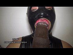 Dominican Lipz Wearing Latex Gives BBC Some Sloppy Head- DSLAF