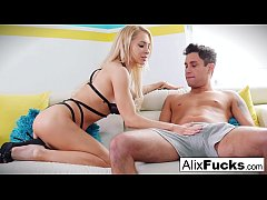 Alix Lynx Hot Blowjob
