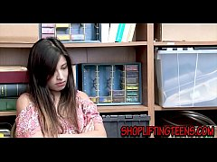 Cute teen latina with small tits plowed for stealing by hung store manager
