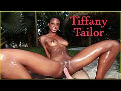 BANGBROS - Skinny Black Model Tiffany Tailor Gets Fucked On Brown Bunnies