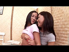 Kelsie and Mony from Sapphic Erotica have fun in Fingering Frenzy 2