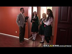 brazzers - big tits at school - drilled by the dean scene starring sophia santi and keiran lee