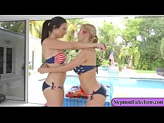 Alexis Dean and Alexis Fawx intimate lesbian session