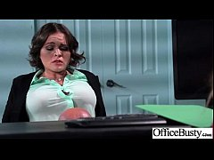 Superb Woker Girl (krissy lynn) With Big Tits Get Hard Sex In Office clip-16