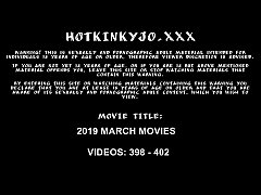 MARCH 2019 UPDATES Hotkinkyjo prolapse giant dildos fisting balls & swets