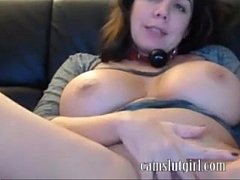 german cam-whore with enormous tits