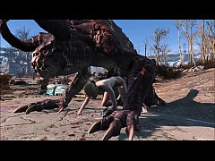 Clip sex Fallout 4 Katsu and the Deathclaw